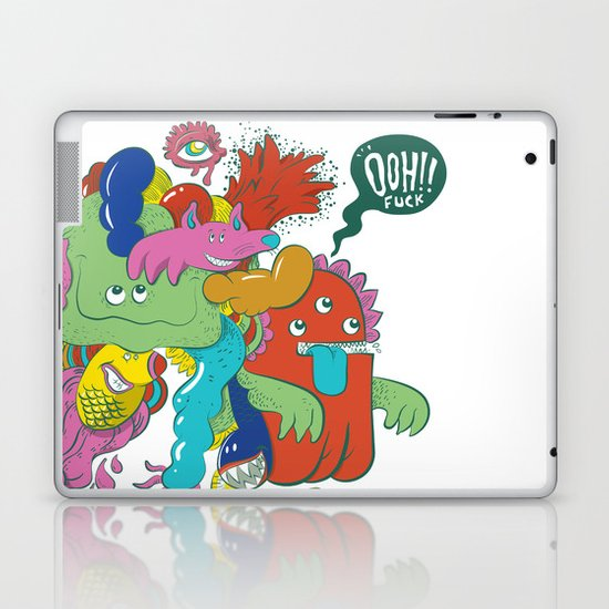 Ooh!! fuck Laptop & iPad Skin