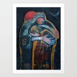 The Father's Forgiveness Art Print
