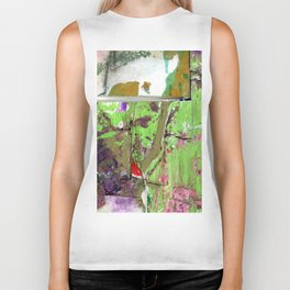 Green Earth Boundary Biker Tank