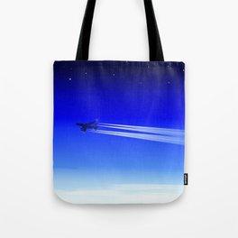 Jet Heading Home Tote Bag