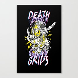 death grips tribute Canvas Print