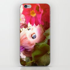 Bed flower iPhone & iPod Skin