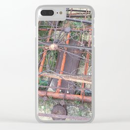 Ghost town rubble Clear iPhone Case