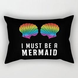 Mermaid Beach Bikini Carnival Shell BH Bra Gift Rectangular Pillow