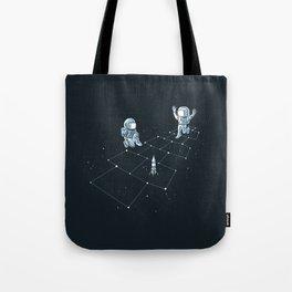 Hopscotch Astronauts Tote Bag