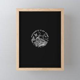 Magic is my home Framed Mini Art Print