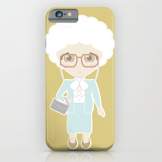 Girls in their Golden Years - Sophia iPhone & iPod Case