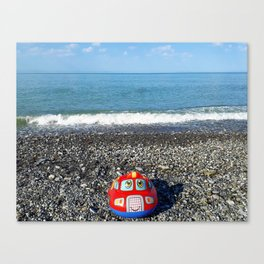 Postcard from the sea Canvas Print