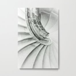 Sand stone spiral staircase 009 Metal Print