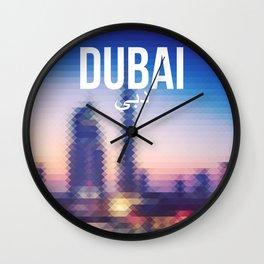 Dubai - Cityscape Wall Clock