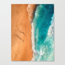 Two Surfers Canvas Print