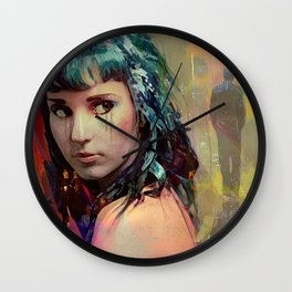 Tell me that he left for one other than I, but not because of me Wall Clock