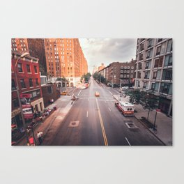 New York City Streets Canvas Print