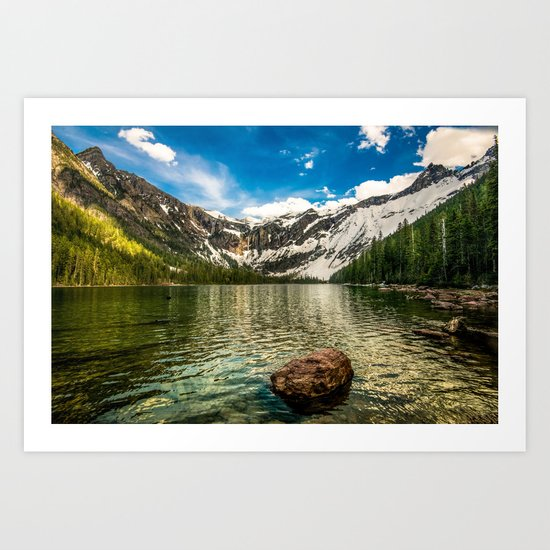 A Moment in Time Art Print