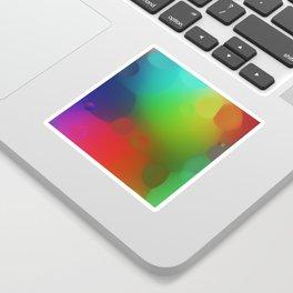 misc fantasy color drops B Sticker