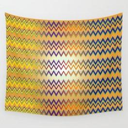 Zig Zag Flare Wall Tapestry
