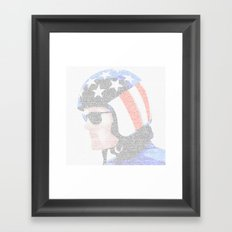 Easy Rider Framed Art Print