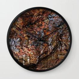 Avalon Wood Impressions Wall Clock