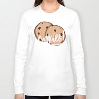 cookies Long Sleeve T-shirts featuring Cookies by Chelsea Herrick
