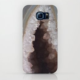 Geode Crystal Cavern iPhone Case