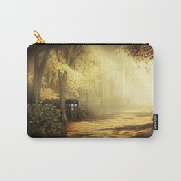 Tardis Lost In The Forest Carry-All Pouch