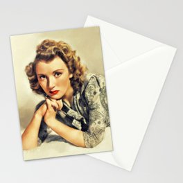Muriel Angelus, Vintage Actress Stationery Cards