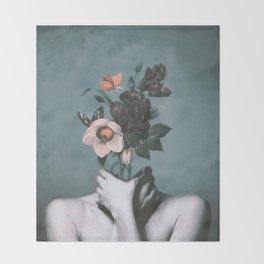 inner garden 3 Throw Blanket