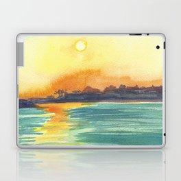 Cresent Bay Sunset Laptop & iPad Skin