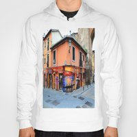 grafitti Hoodies featuring Grafitti on Elvira Street by Simon Ede Photography
