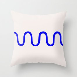 Shape Study #11 - Squiggle Throw Pillow