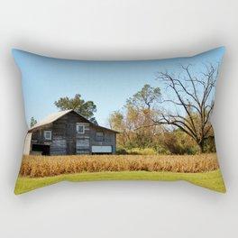 Barn Landscape Rectangular Pillow