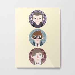 The Doctors will see you now. Metal Print