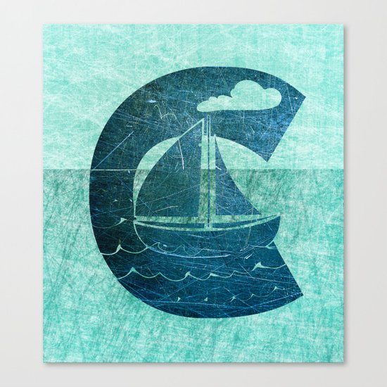 Sail Across the Sea Canvas Print
