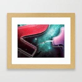 Winter Ice Framed Art Print