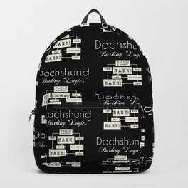 Barking is the Option Backpack