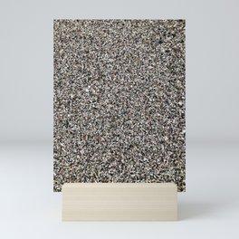 Crushed Shell Beach Mini Art Print