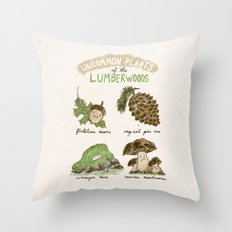 Uncommon Plants Of The Lumberwood Throw Pillow