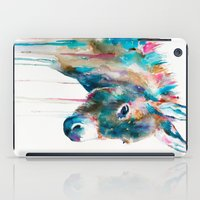 donkey iPad Cases featuring Donkey by Slaveika Aladjova