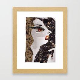 Lady Ga Ga #PrideMonth Collage Portrait Framed Art Print