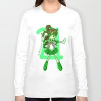 sailor jupiter Long Sleeve T-shirts featuring Sailor Jupiter by Glopesfirestar