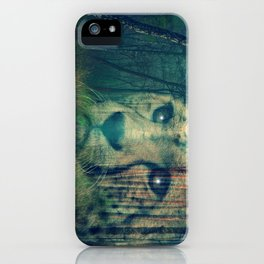 Cheetah in the Woods iPhone Case