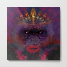 Endangered Species - Mountain Gorilla Metal Print