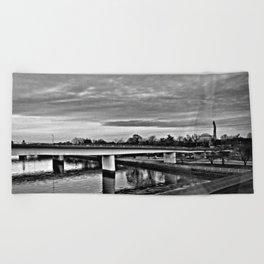 Connection Beach Towel