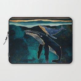 Moonlit Whales Laptop Sleeve