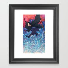 Iunii, One of the Tricksters Framed Art Print