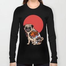 Yakuza Pug Long Sleeve T-shirt