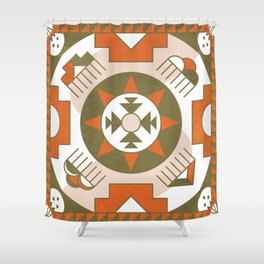 Eototo Kachina Shower Curtain