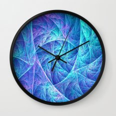 Petal pattern Wall Clock