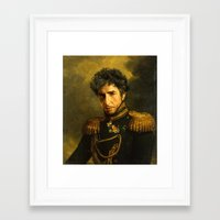 replaceface Framed Art Prints featuring Bob Dylan - replaceface by replaceface