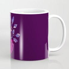 pot and branch on purple Mug